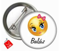 Baldız Smiley Rozet