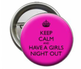 Grils Night  Out İğneli Rozeti