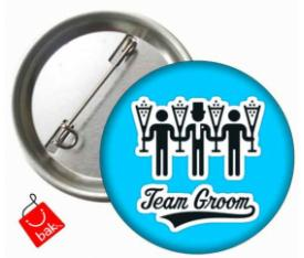 Team Groom Rozeti
