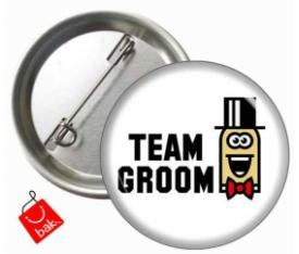 Team Groom Yaka Rozeti